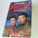 Star Trek THE next generation Fortune's Light paperback book Michael Jan Friedman
